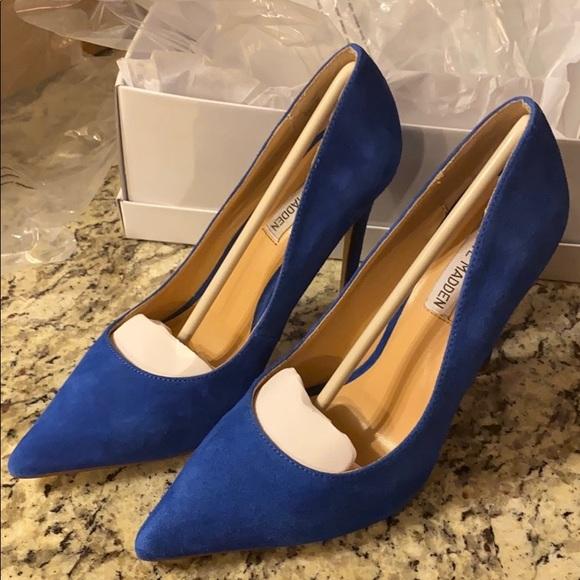 reservorio cuota de matrícula poco  Steve Madden Shoes | Steve Madden Olena Blue Suede Pumps Size 8 | Poshmark